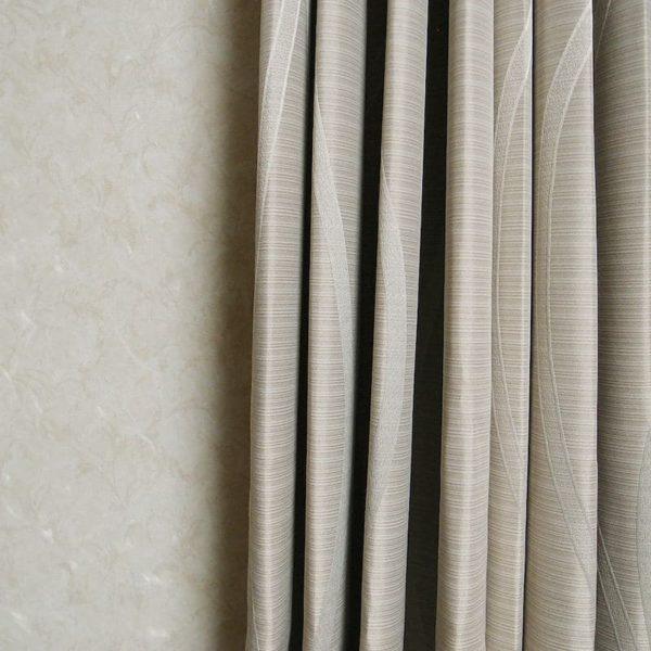 リッチな雰囲気 織り柄遮光オーダーカーテン フィオーレ アイボリー