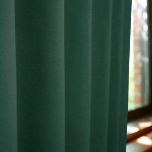 当店オリジナル!和な色オーダーカーテン 40色 1級遮光 和色カーテン 常盤緑