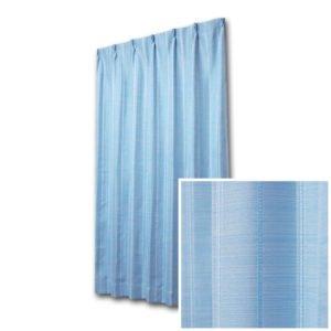 ホッとする色合い 和な雰囲気のオーダーカーテン トロワ ブルー