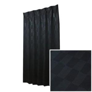 モダンでシックな大人な色味 1級遮光オーダーカーテン ルージュ ブラック