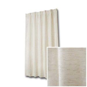 天然素材風ナチュラルレースカーテン L.フィーユ
