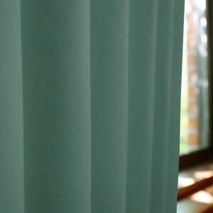 和色カーテン 若緑