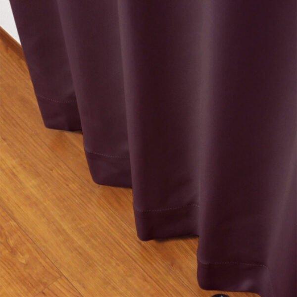 和色カーテン 京紫