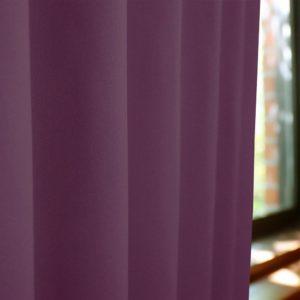 和色カーテン 紫