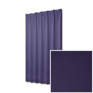 和色カーテン 江戸紫