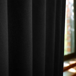 和色カーテン 漆黒