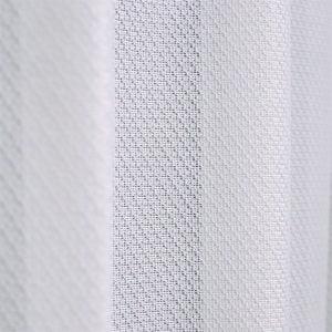 防炎 断熱 シンプルレースカーテン L.プランタン