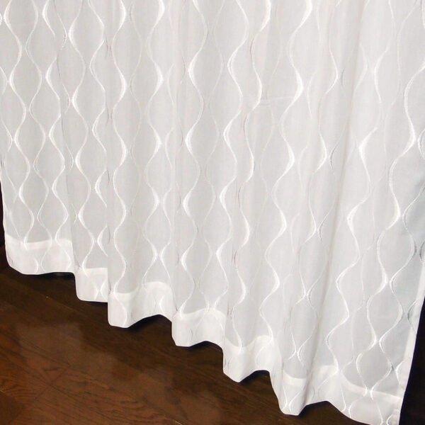 遮熱 ミラー効果レースカーテン しっかりとした生地感 L.ジオ