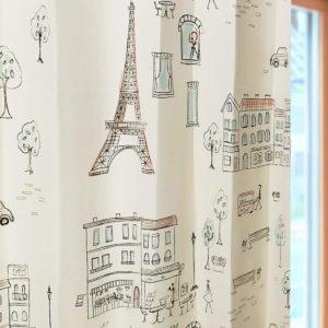 パリの絵ベージュ