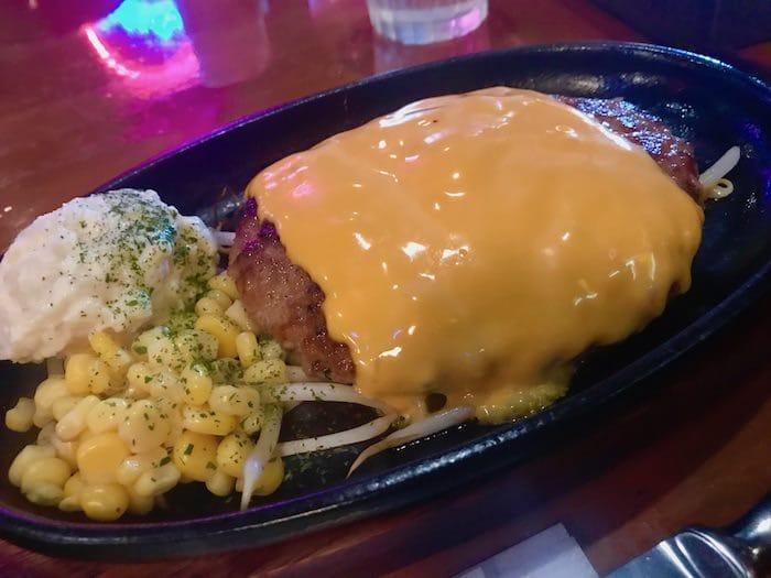 ゴールドラッシュ チーズハンバーグ